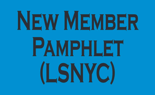 New member pamphlet - LSNYC
