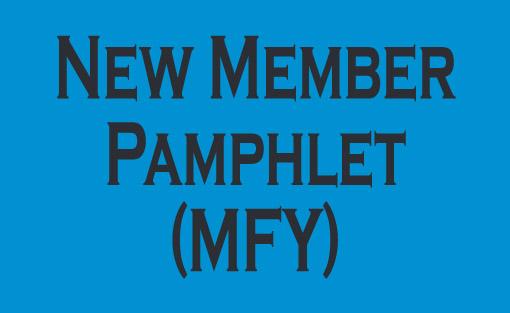 New member pamphlet - MFY