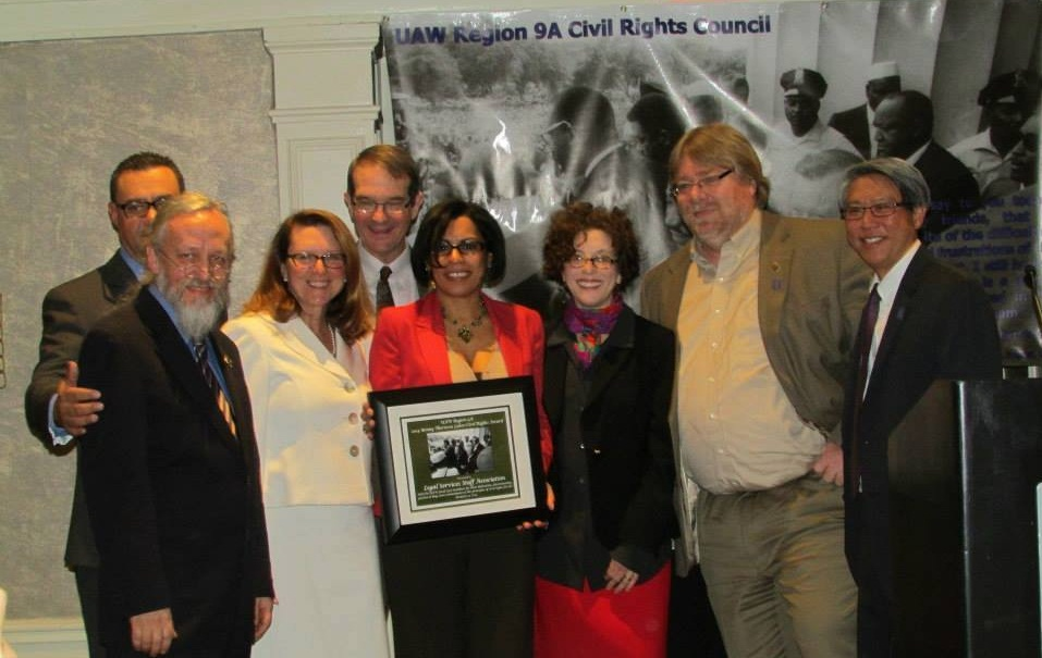 UAW Honors LSSA with Award