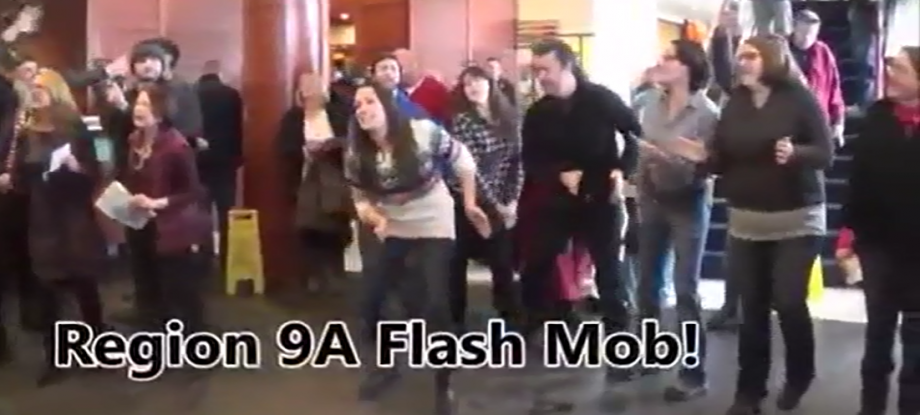 flash mob screencap